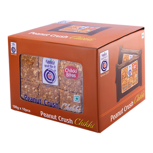 Peanut Crush Chikki